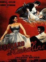 Affiche Edouard et Caroline