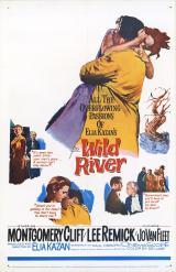 Affiche Le fleuve sauvage