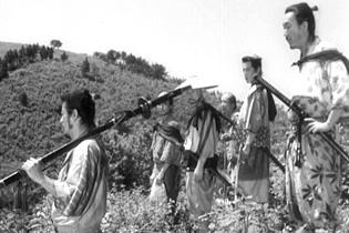 Les samourais, icônes d'un cinéma