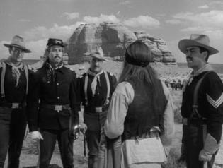 Le Massacre de Fort Apache (Fort Apache, John Ford, 1948)